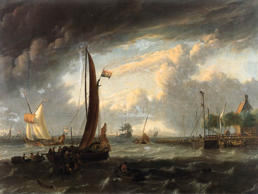 Attributed to Ludolf Bakhuizen