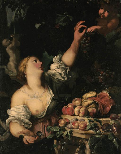 Studio of Abraham Brueghel (16