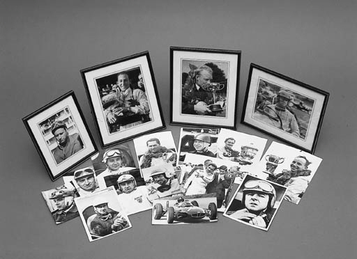 A collection of motor racing p