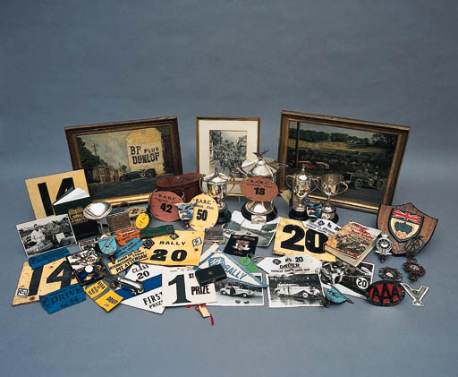A collection of Motor racing b