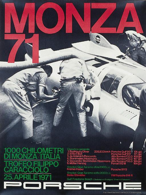 Porsche - two original posters