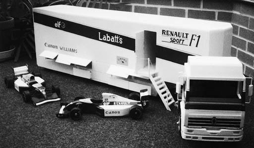 Williams-Renault - A handmade