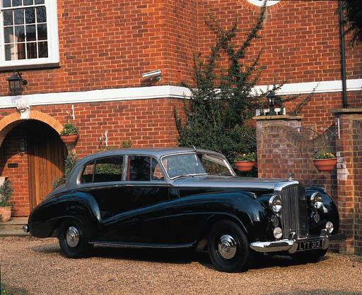 1951 BENTLEY MK VI FOUR-DOOR L