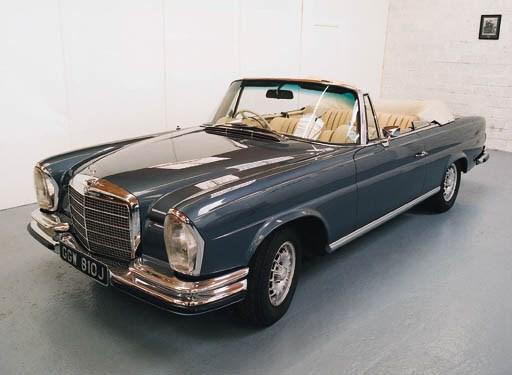 1970 MERCEDES-BENZ 280SE 3.5 C