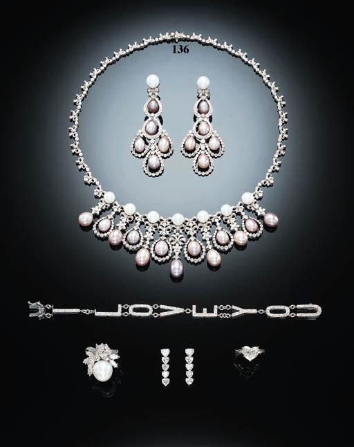 A DELICATE DIAMOND, WHITE AND