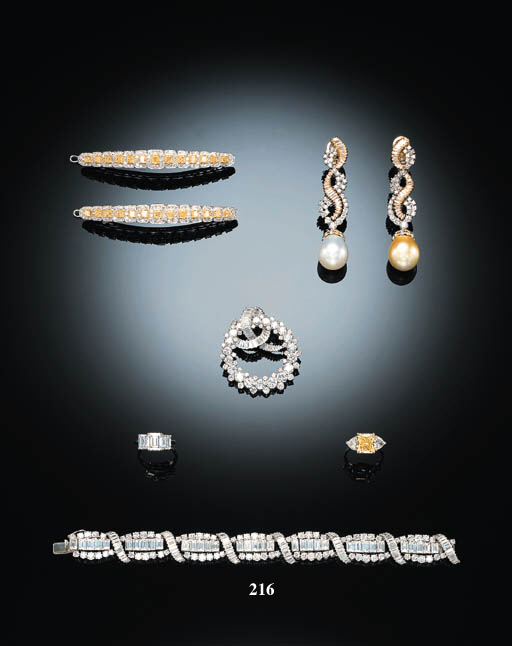 A DIAMOND BRACELET, BY MISSIAG