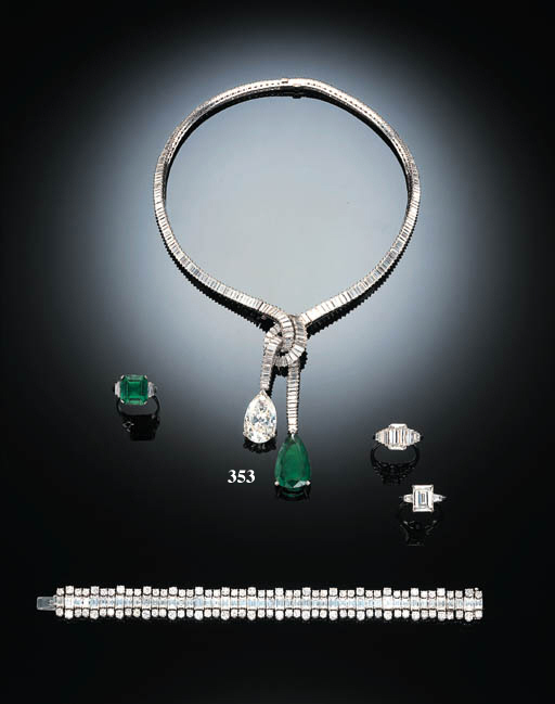 AN IMPORTANT DIAMOND AND EMERA