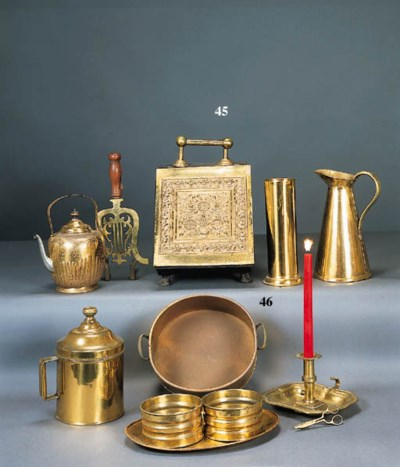 A MISCELLANEOUS GROUP OF BRASS