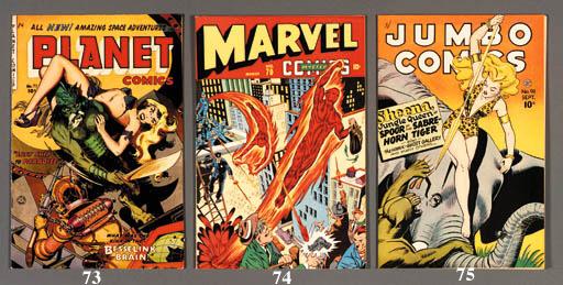 JUNGLE AND PLANET COMICS