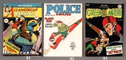 NATIONAL AND POLICE COMICS
