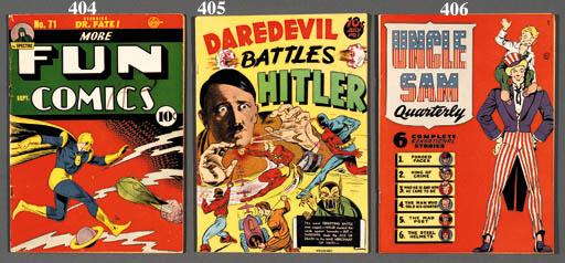 DAREDEVIL BATTLES HITLER NO.1