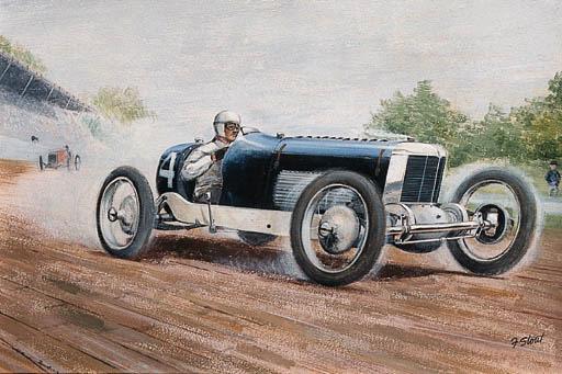 F. Stout - Miller 91 race car:
