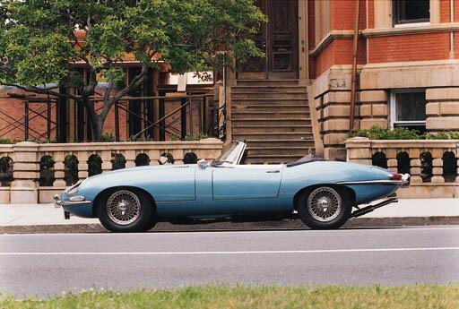 1966 JAGUAR E-TYPE SERIES I 4.
