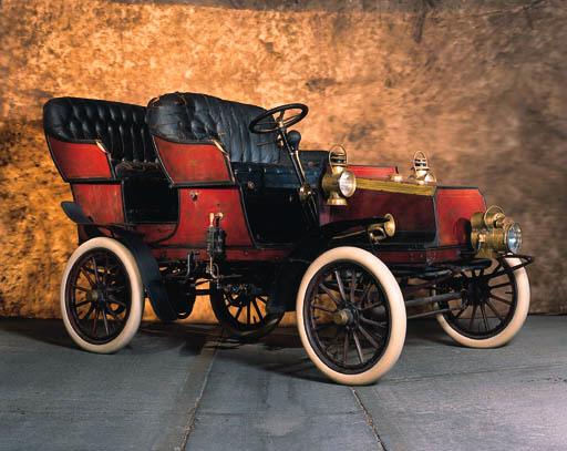 1904 GROUT STEAM RUNABOUT
