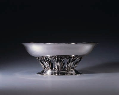 A DANISH SILVER CENTERPIECE BO