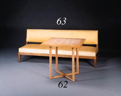 A FINE OAK TABLE