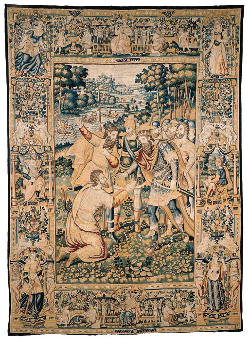 A BRUSSELS TAPESTRY