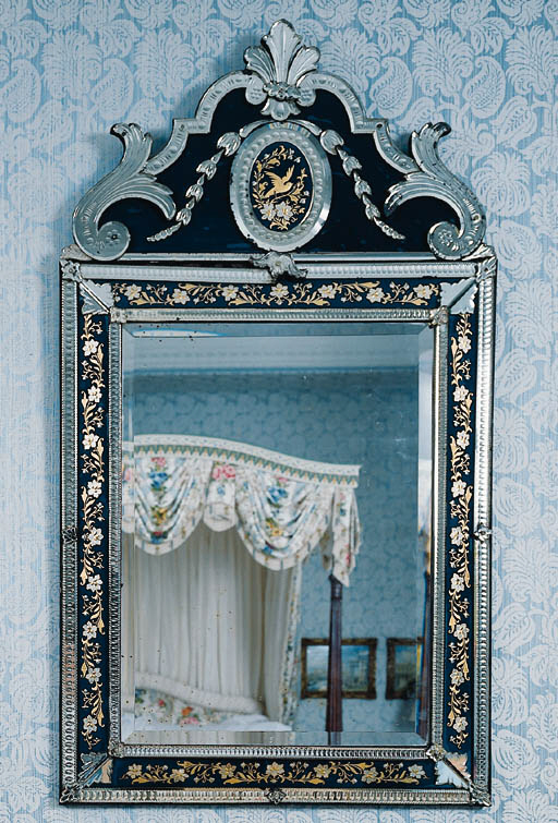 A VENETIAN ROCOCO STYLE BLUE,