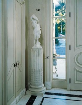 A PAIR OF LOUIS XVI STYLE WHIT