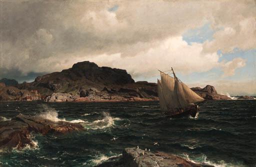 Hans Fredrik Gude (Norwegian,