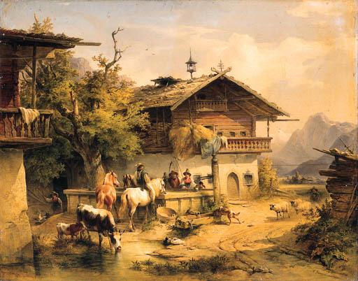 Friedrich Gauermann* (Austrian