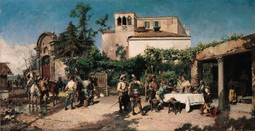 Cesare Auguste Detti (Italian, 1847-1914)