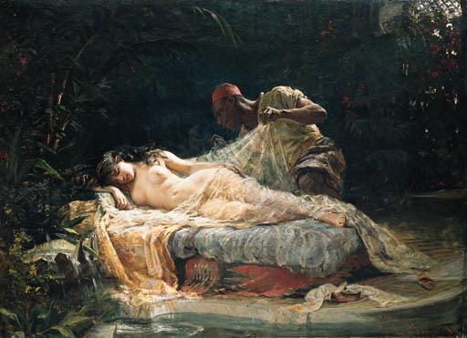 Paul Merwart (Polish, 1855-190