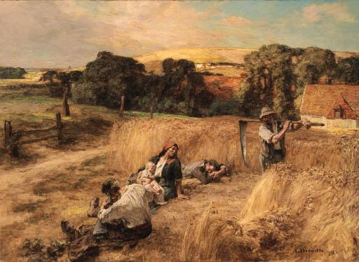 Leon Augustin Lhermitte (French, 1844-1925)