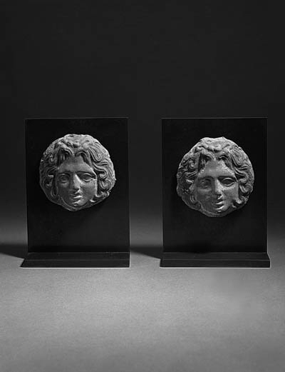 A PAIR OF HELLENISTIC TERRACOT