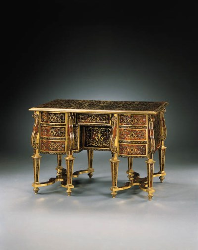 A LOUIS XIV ORMOLU-MOUNTED MOT