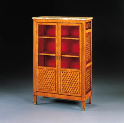 A LOUIS XV TULIPWOOD AND PARQU