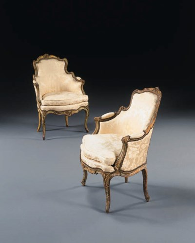 A MATCHED PAIR OF LOUIS XV POL