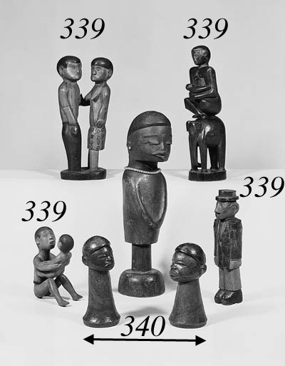 FOUR SOUTHERN AFRICA FIGURES