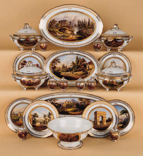THE PARIS PORCELAIN GILT POLYC