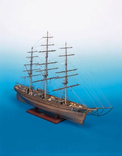 A PLANKED AND RIGGED MODEL OF