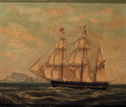 CASPARUS JOHANNES MOREL (1798 - 1861)