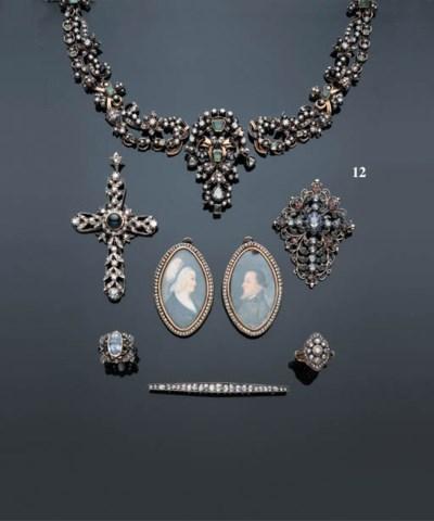 A DIAMOND, EMERALD, SAPPHIRE A