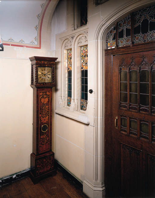 a william and mary kingwood and marquetry longcase clock