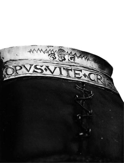 A rare Dutch silver-mounted le