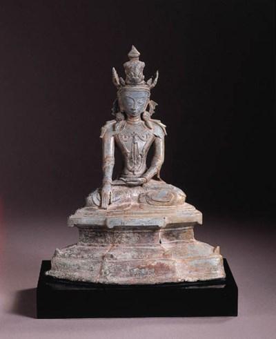 a burmese, arakan style, bronz