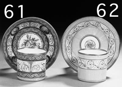 a paris porcelain polychrome c