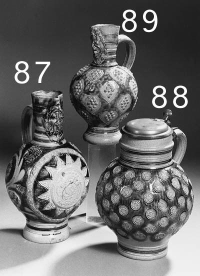 a rhenish stoneware jug