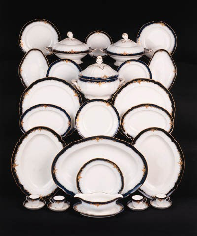 a berlin porcelain dinner serv