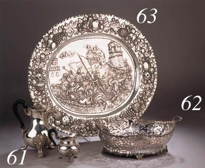 A large German silver side boa