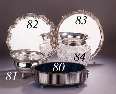 A German Art Deco silver bowl