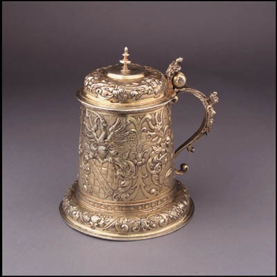An early and fine silver-gilt