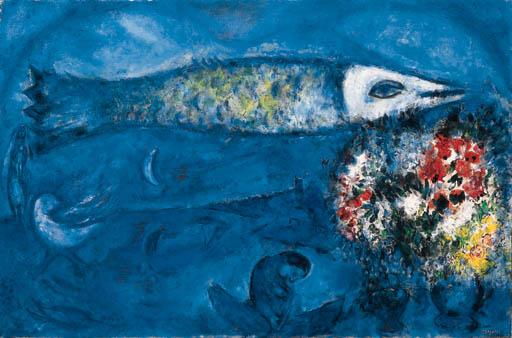 Marc Chagall 1887 1985 Le Poisson Volant Christie S
