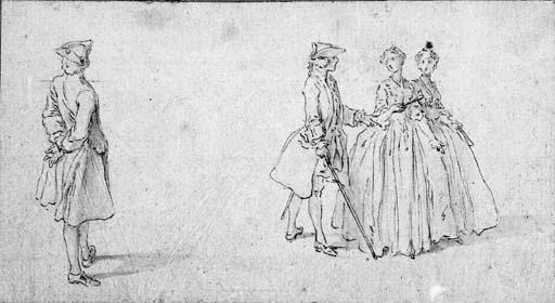 HUBERT-FRANOIS GRAVELOT (1699-