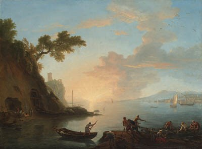Adriaen Manglard (Lyon 1695-17