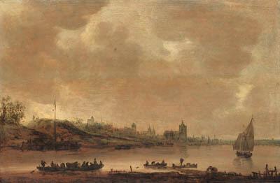 Attributed to Jan Josefsz. van Goyen (Leiden 1596-1656 The Hague)